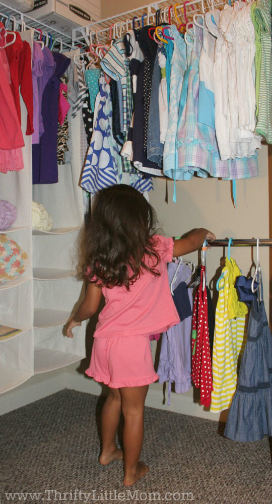 Preschooler Closet Organization Ideas