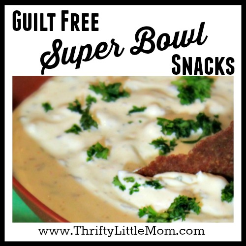 Guilt Free Super Bowl Snacks