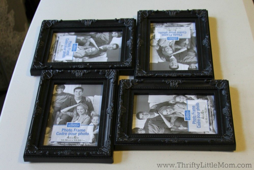 Create A Decorative Collage Frame For Less than $5 » Thrifty Little Mom