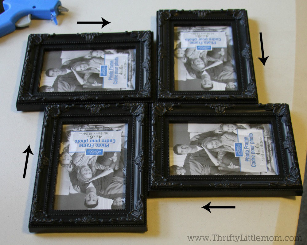 Create a decorative collage frame for less than 5 thrifty vertical hortizontal collage frame jeuxipadfo Choice Image