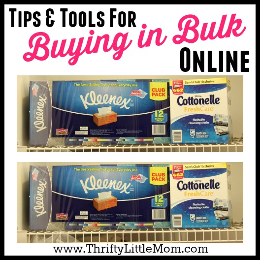 Buying in bulk online