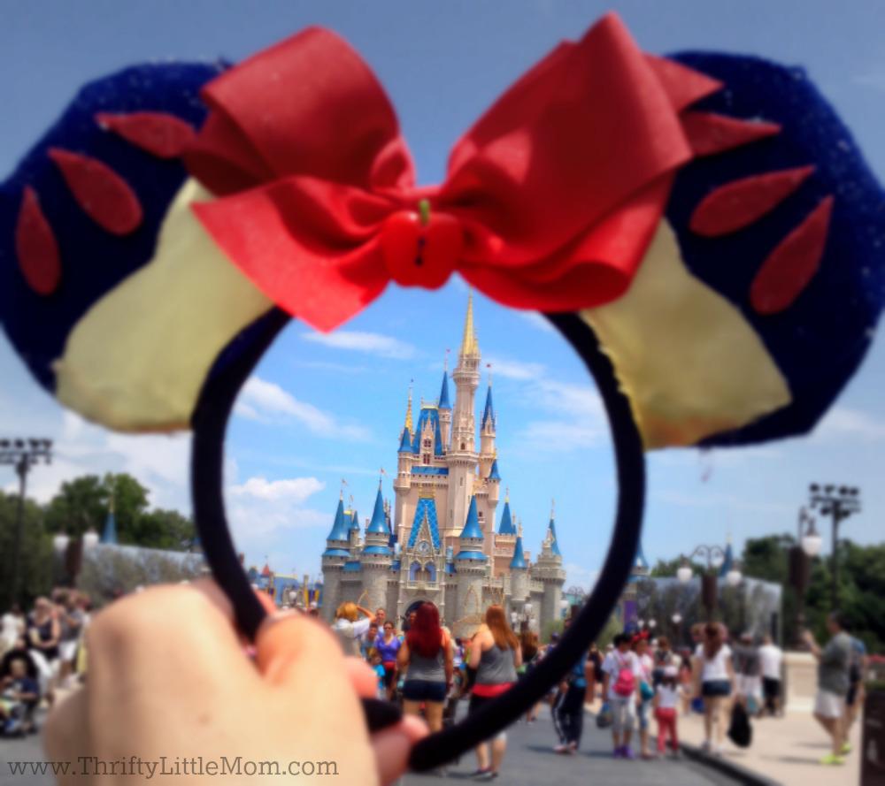 Disney Castle Through Ears