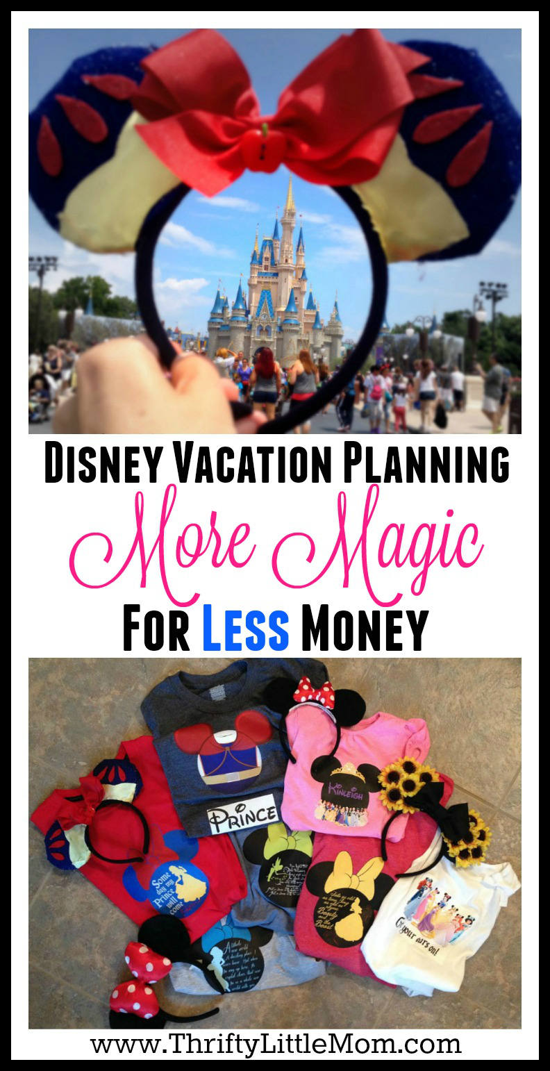 Disney Vacation Planning