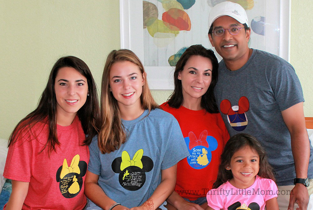 Family Disney Vacation Shirts