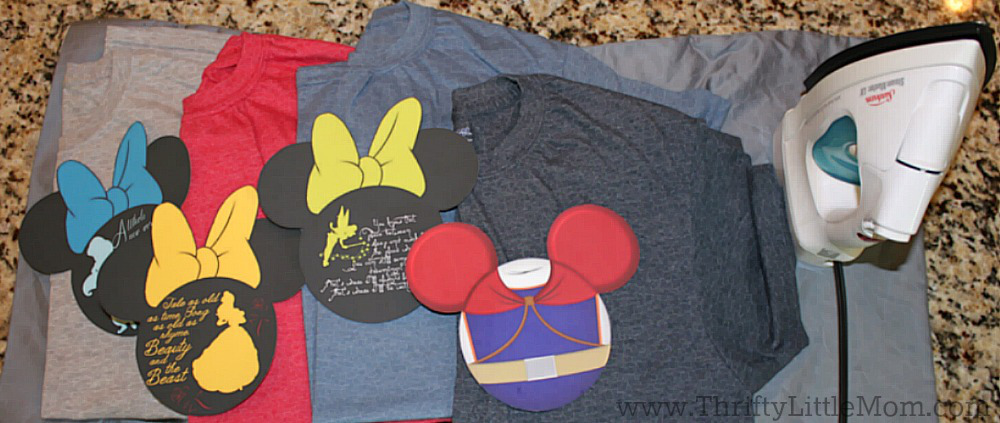 Make Your Own Disney Vacation Shirts