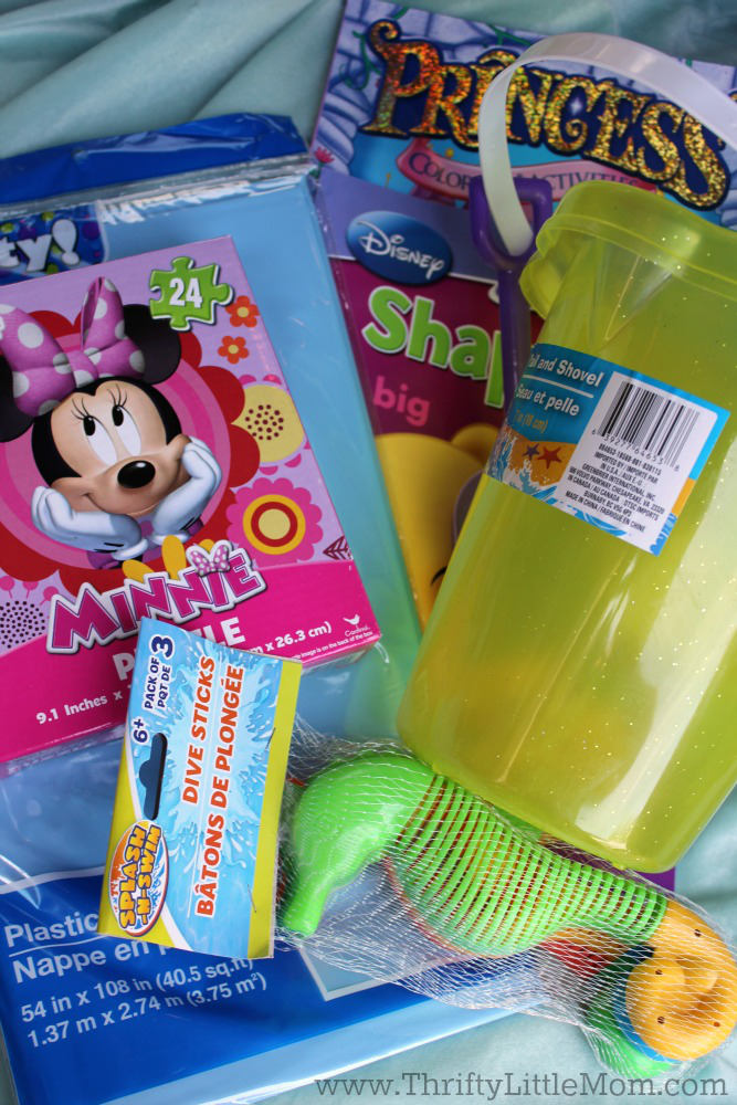 Pre Pack Your Disney Busy Bag