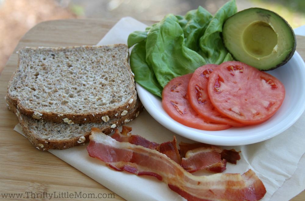 The Ultimate BLT Recipe Ingredients