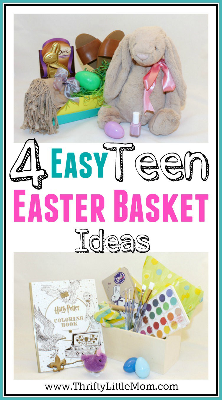 4 awesome teen easter basket ideas thrifty little mom 4 easy teen easter basket ideas negle Gallery