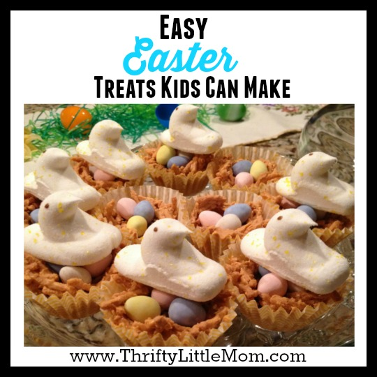 Easy Easter Treats That Kids Can Make