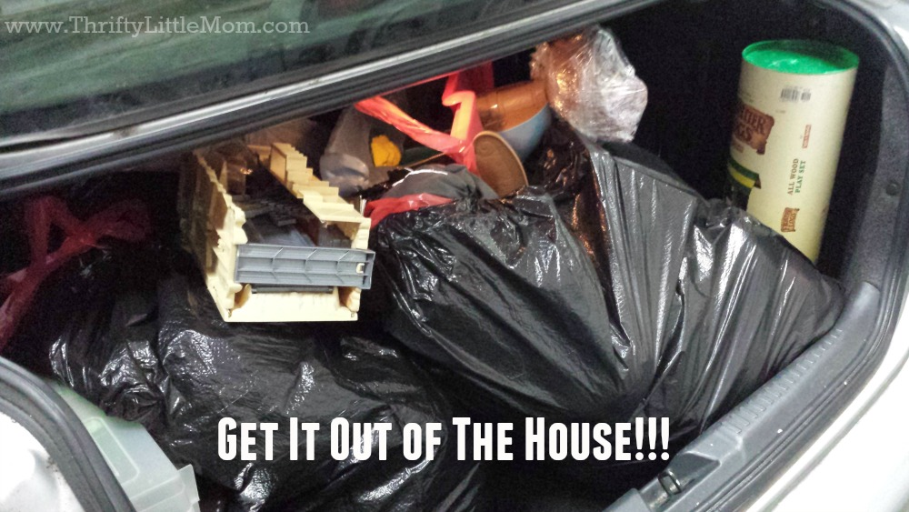 Get Donations Out of the House