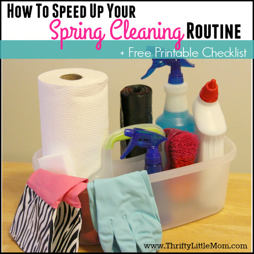 How To Speed Up Your Spring Cleaning Routine