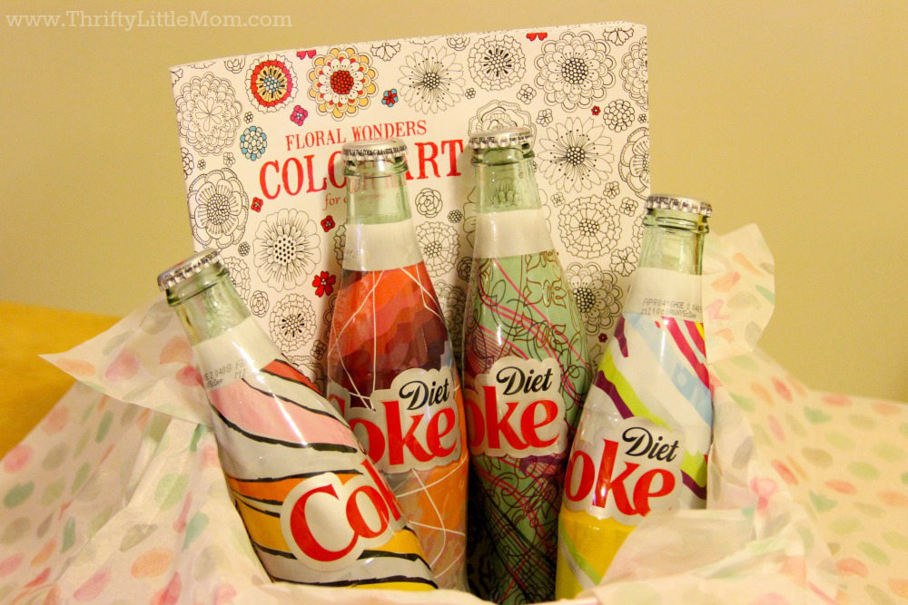 It's Mine Coke Basket Idea