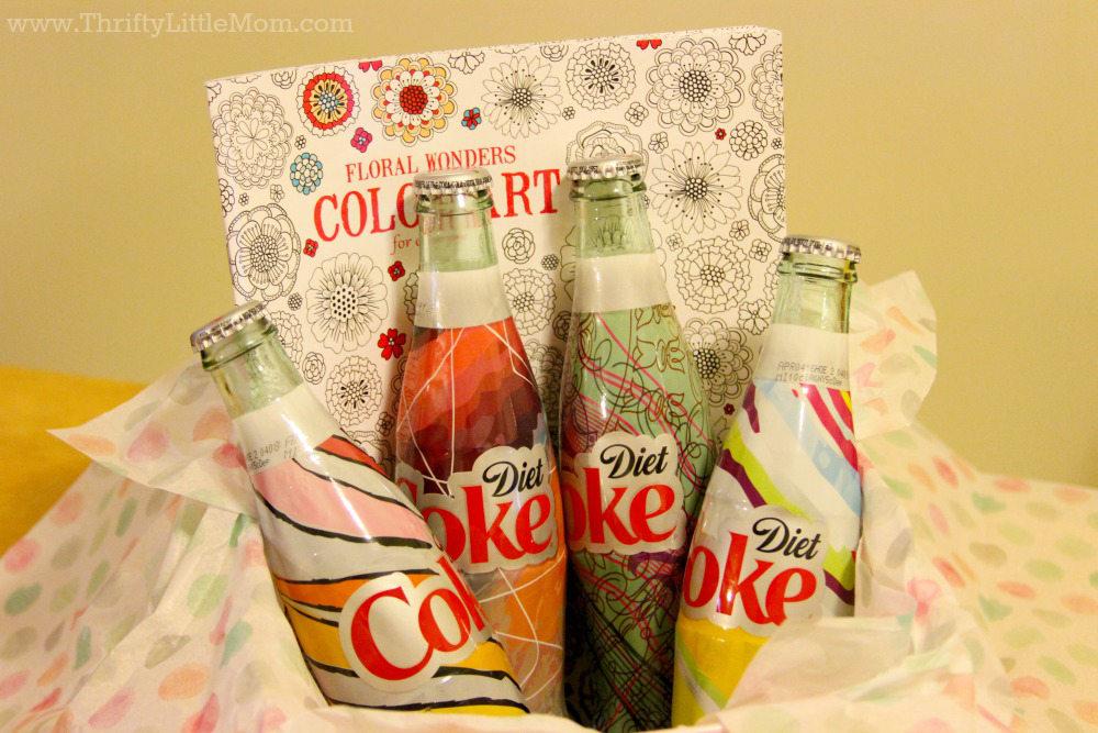 It's Mine Coke Basket Idea