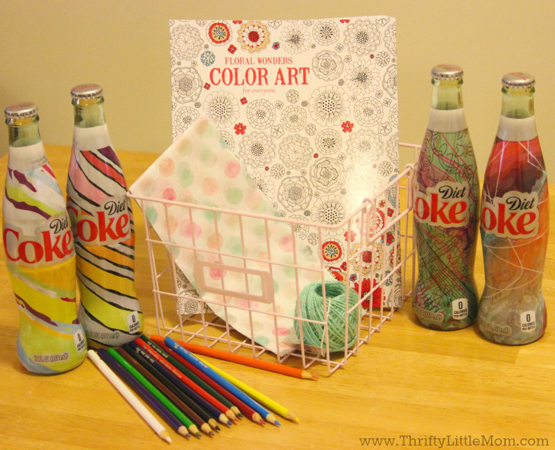 It's Mine Diet Coke Gift Basket Supplies