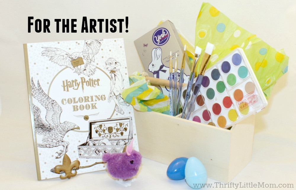 Teen Easter Basket Ideas For the Artistic