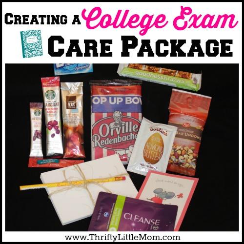 College Exam Care Pack