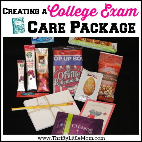 College Care Packs For Exam Season