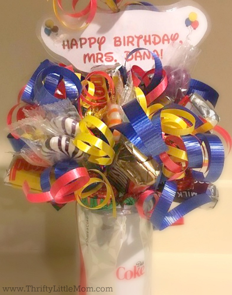 DIY Candy Bouquet Gift