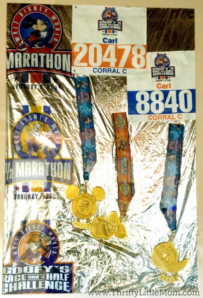 Marathon Award Frame