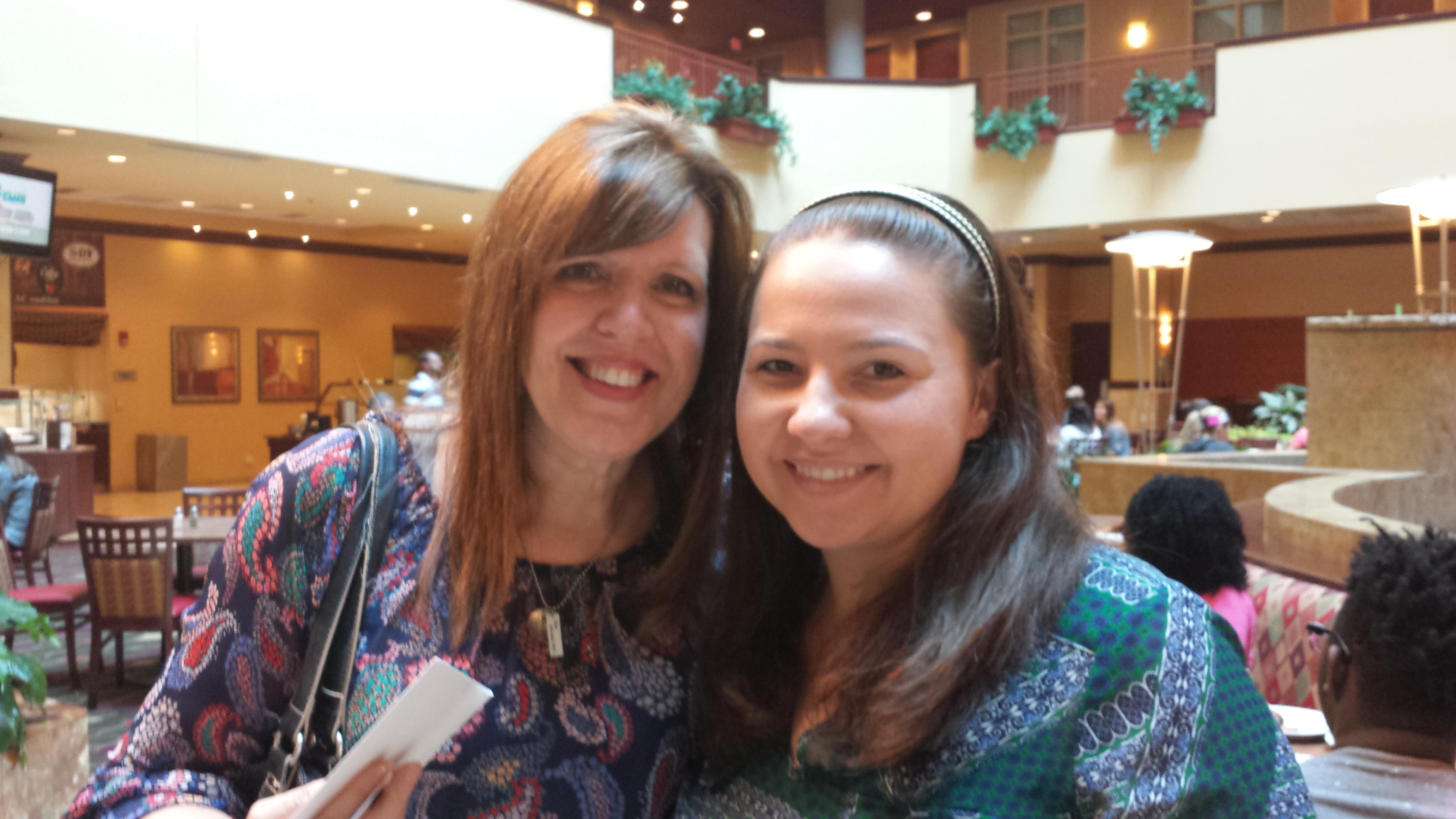 Picture with my speaking coach Suzie Eller