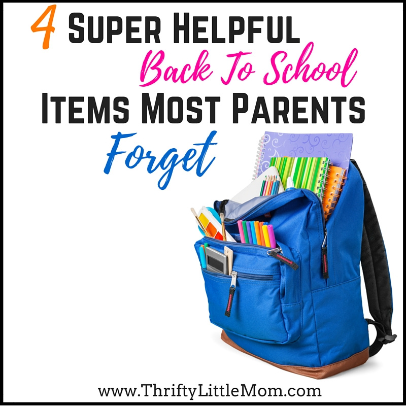 4 Super Helpful Back To School Supplies Most Parents Forget