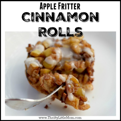Apple Fritter Cinnamon Rolls