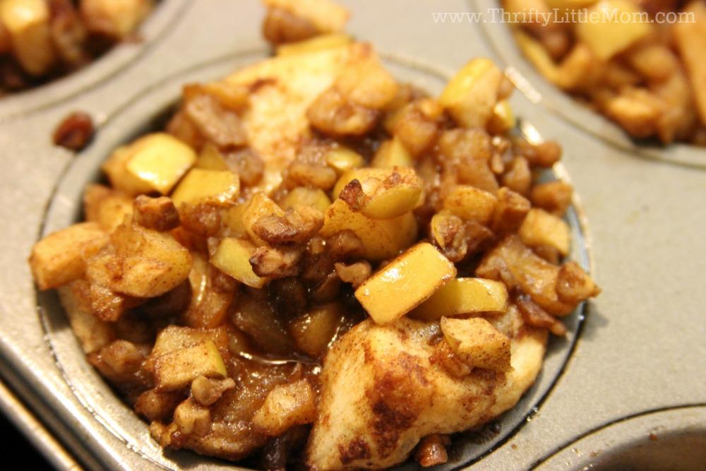 Apple Fritter Cinnamon Rolls Apple Topping 2