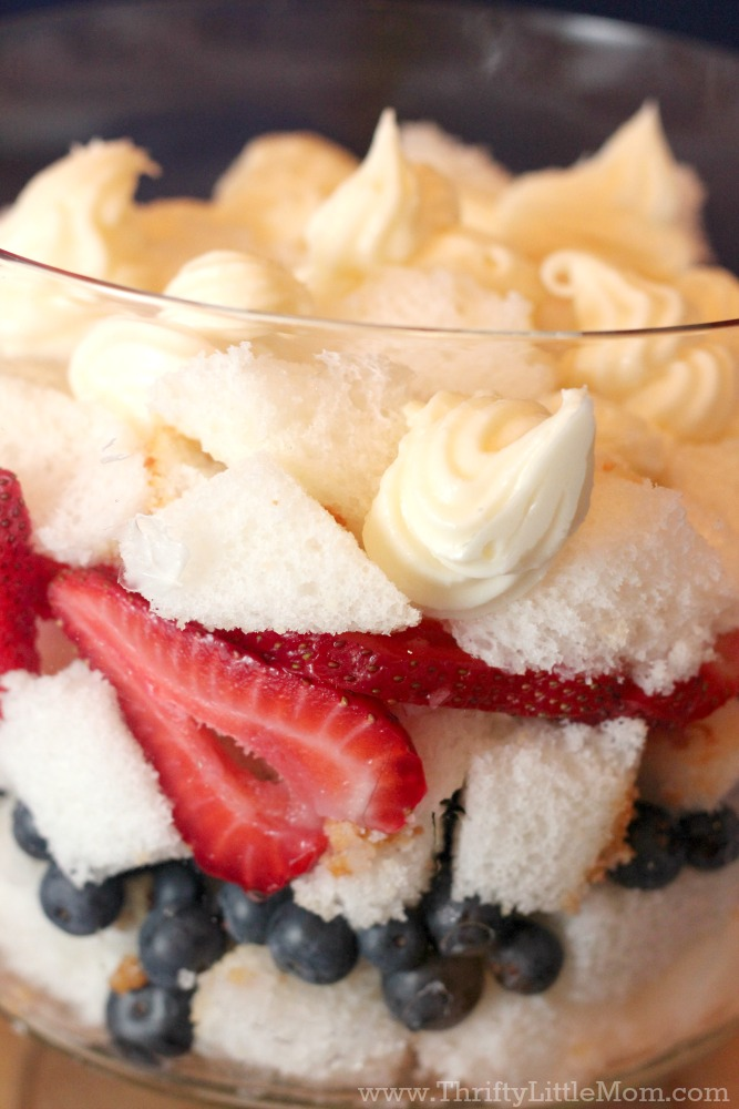 Berry Trifle Dish