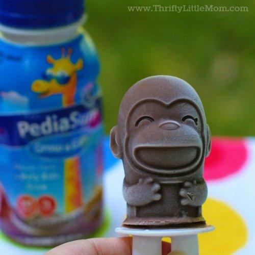 Kid's Creamy Chocolate Ice Pops Recipe