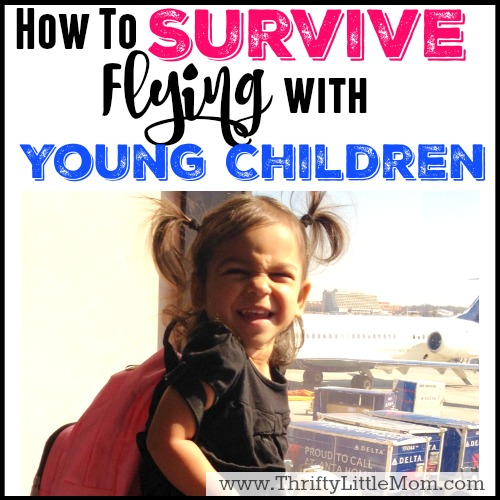 Survive Flying with Young Children