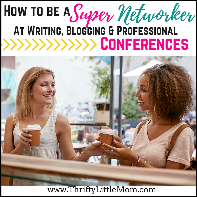 How To Network at Blog and Writing Conferences