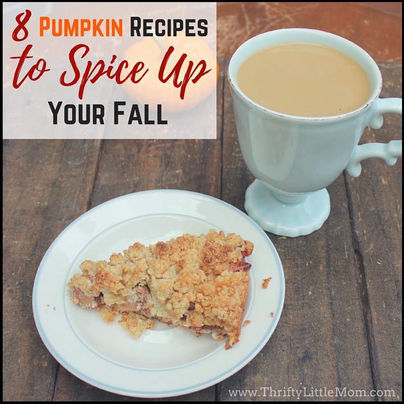 8 Pumpkin Recipes To Spice Up Your Fall