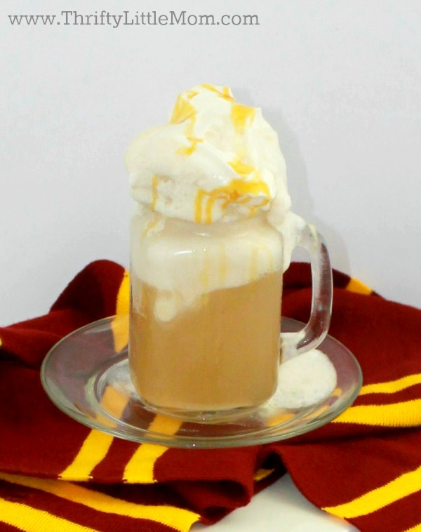 Harry Potter Butterbeer recipe mug