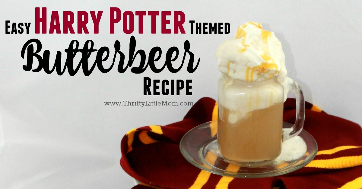 Harry Potter Shower- Butter Beer in Glass