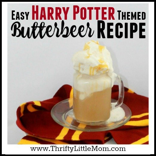 Harry Potter Themed Butterbeer Recipe