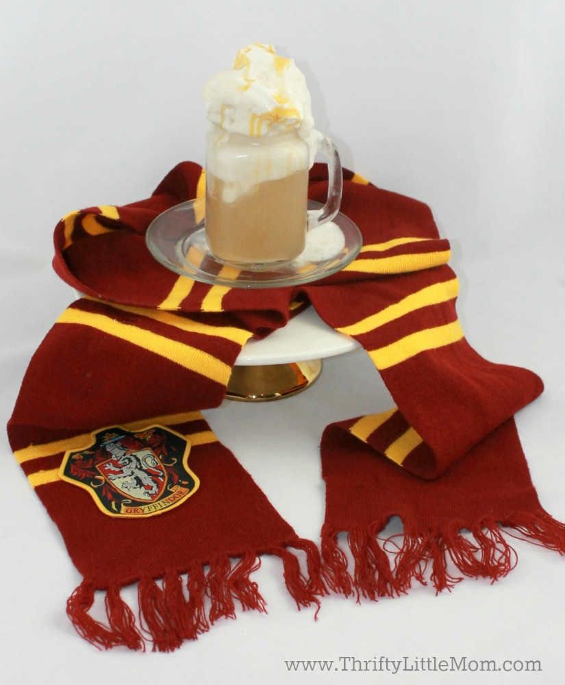 Oh my word! This Harry Potter butterbeer recipe is so easy and tastes amazing! It's nonalcoholic so I made it for my kids and they love that it's an icy frozen version!