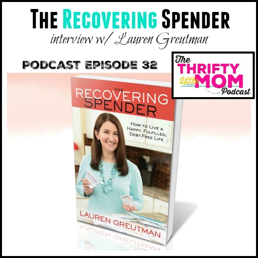 The Recovering spender interview with Lauren Greutman