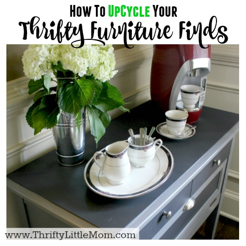 How To Upcycle Your Thrifty Furniture Finds