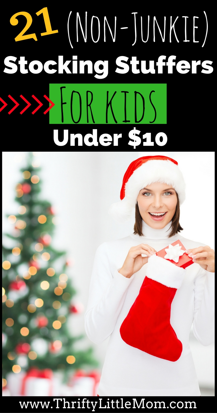 21 Non Junkie Stocking Stuffers for kids under $10