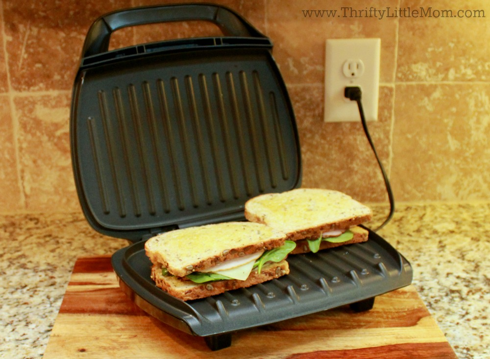panini-on-george-foreman-grill