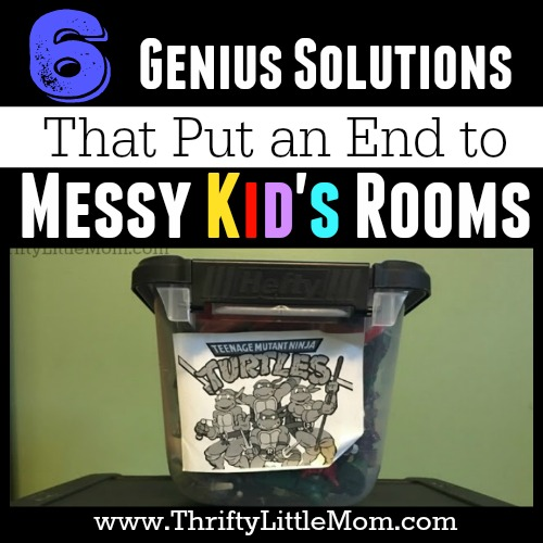 6 Genius Solutions That Put an End to Messy Kid's Rooms