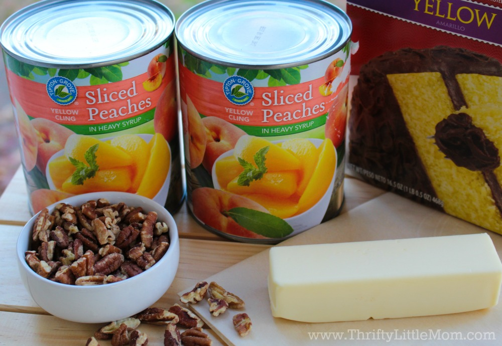 peach-cobbler-cake-ingredients