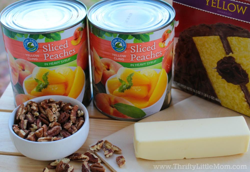peach-cobbler-cake-ingredients
