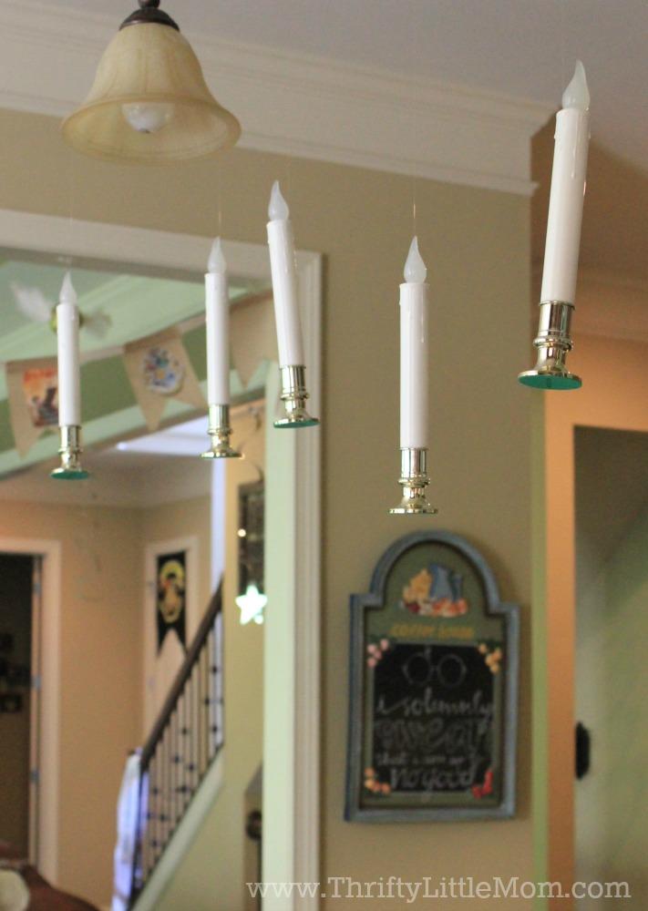 floating candle sticks