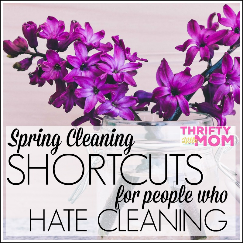 Spring Cleaning Shortcuts For People Who Hate Cleaning
