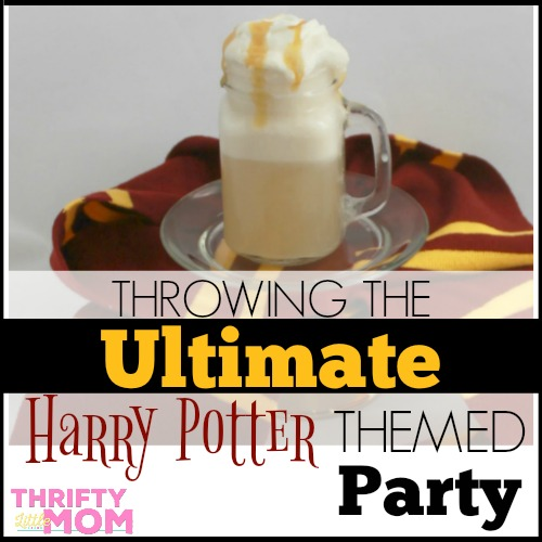Throwing the Ultimate Harry Potter Themed Party