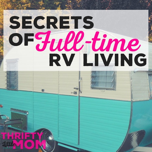 Secrets of Full-Time RV Living