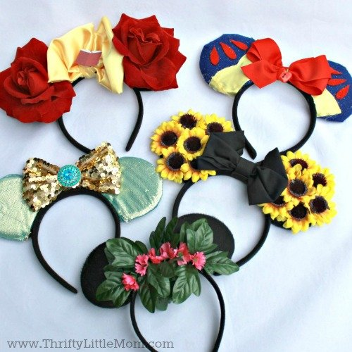 How To Customize Your Own Mouse Ear Headbands Thrifty