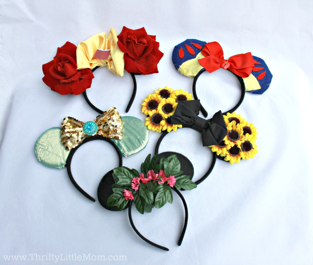 Make your favorite character mouse ear headband