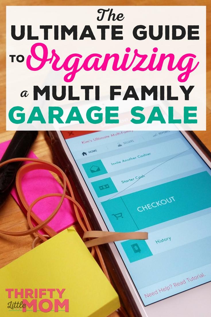 Multi Family Garage Sale Guide